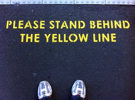 Stand Behind The Yellow Line