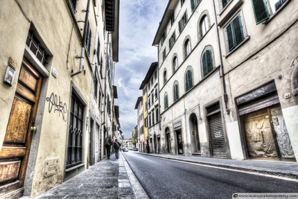 Florence Streets (Italy)