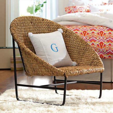 seagrass round chair