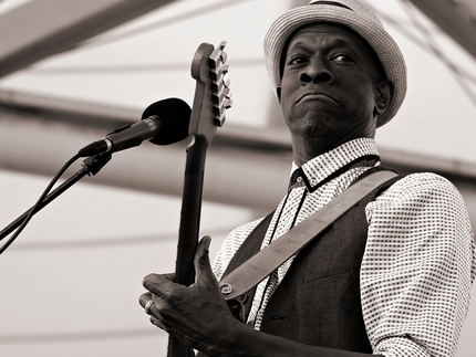 Keb' Mo' at Paris Jazz Festival