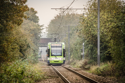 New Addington Tram