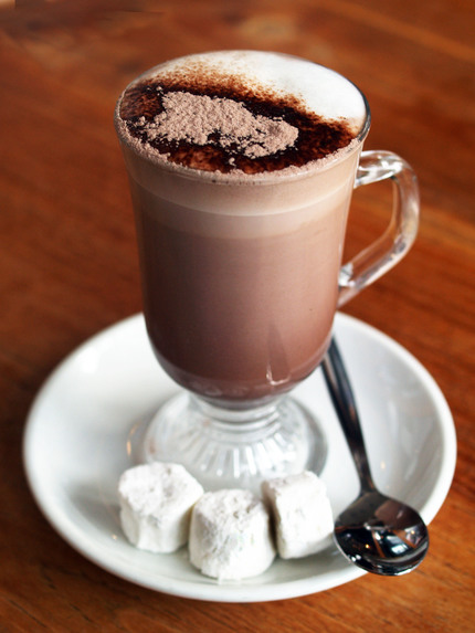 Hot hot. Chocolate chocolate.