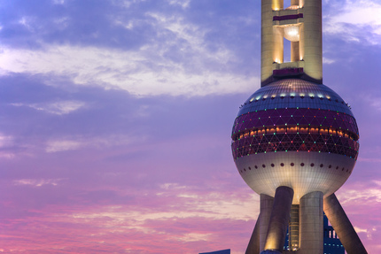 Sunset - Oriental Pearl Tower