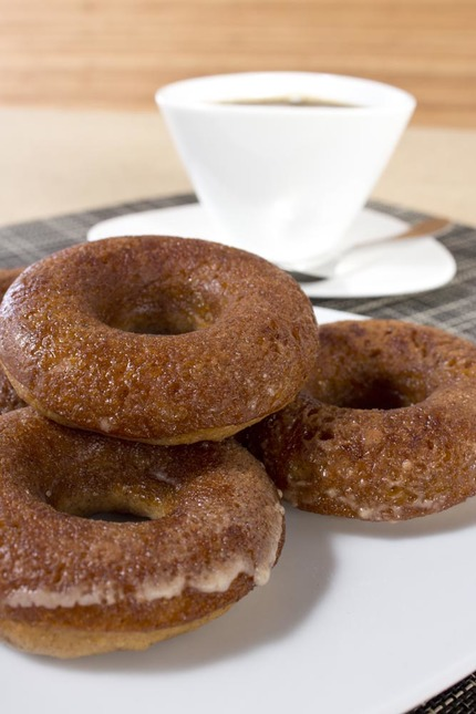 Cider Donuts with Alessi Colombina Teacup