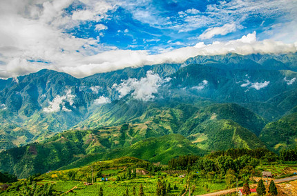 Mountains of Sa Pa