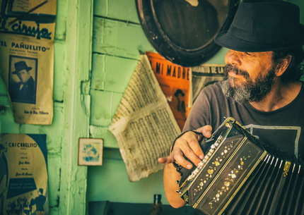 La Boca Squeezebox Player