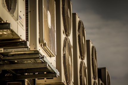 airconditioning units zoomed in