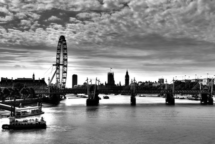 London - The sliver river