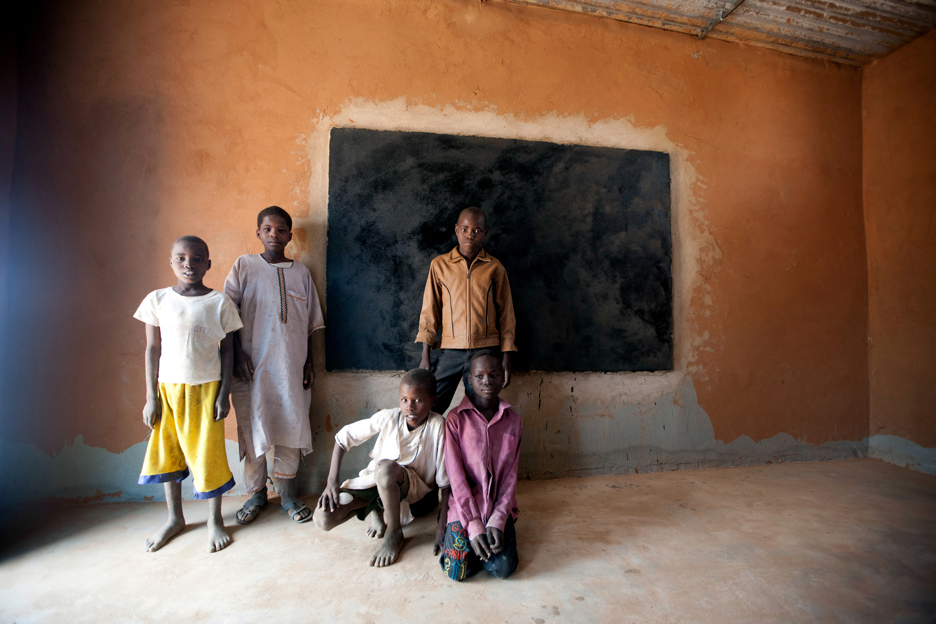 UN Builds Classrooms in North Darfur Camp