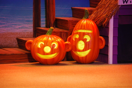 Ernie and Bert Pumpkins