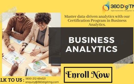 Business Analytics Course in Hyderabad
